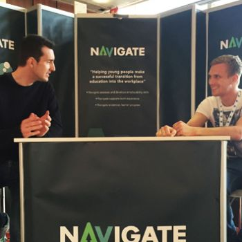 Navigate Stand for Exhibition